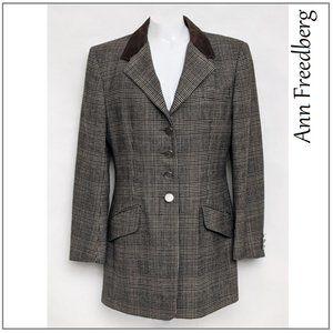 Ann Freedberg Vintage Women's Wool Blazer